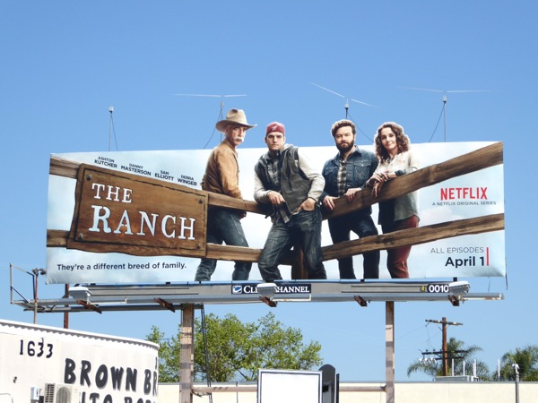 The Ranch special extension billboard