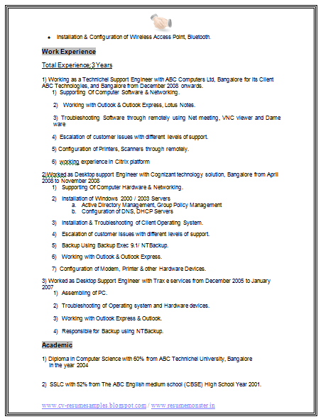20 Free Engineering Resume Examples Engineer Resume Samples Ccna Fresher Resume Model