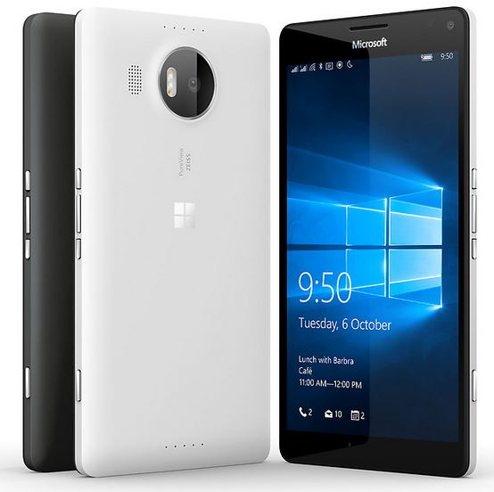 new Microsoft Lumia 950, 950XL smartphones, new smartphones 2016