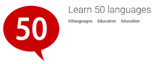 Learn 50 languages,