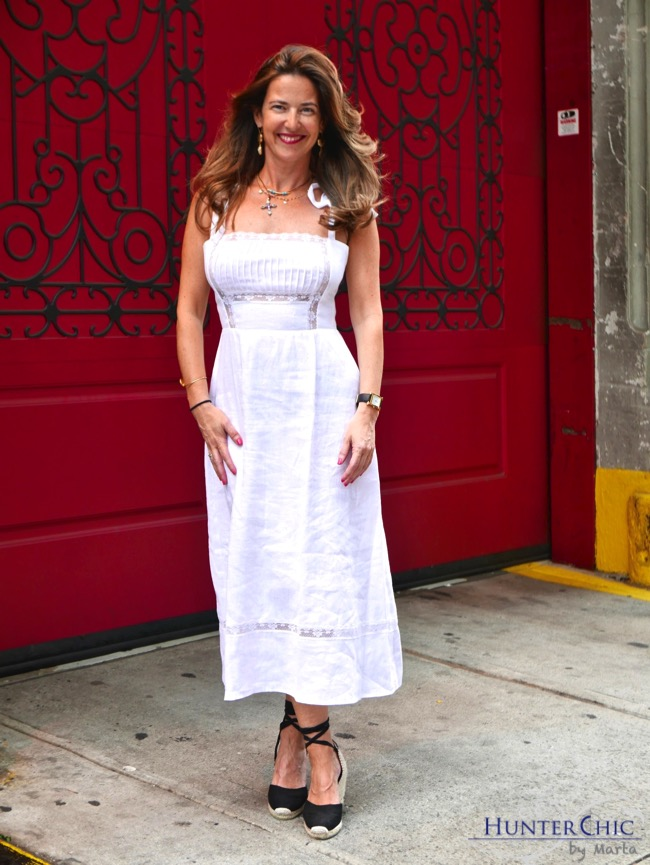 marta halcon de villavicencio-hunterchic by marta-como combinar vestido blanco-fashion blog españa-influencer