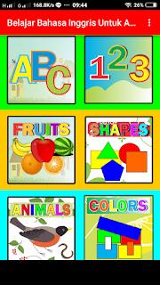 aplikasi belajar bahasa inggris anak