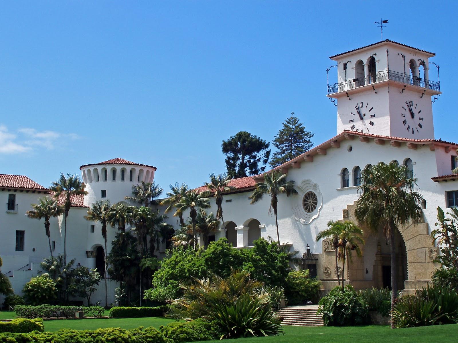 Santa Barbara Sights And Events Santa Barbara County Courthouse