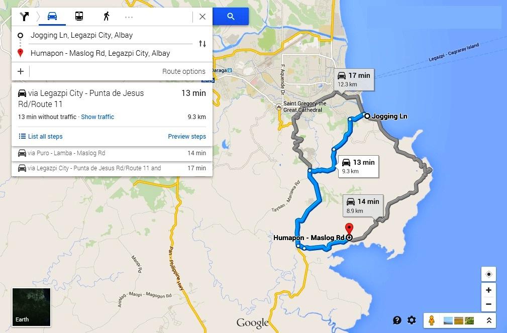 Abot Kaya Properties - Legazpi city map