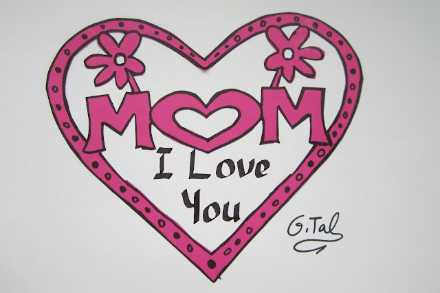 mothers day pictures to draw