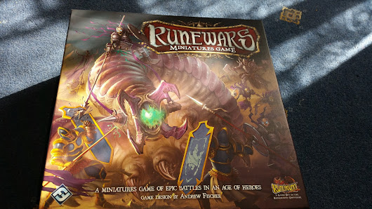 Runewars Minatures Game from Fantasy Flight Games unboxing and review
