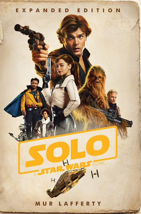 'SOLO: A STAR WARS STORY - EXPANDED EDITION' NOVELISATION