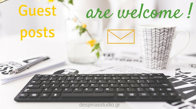 Write a guest post for despinasstudio