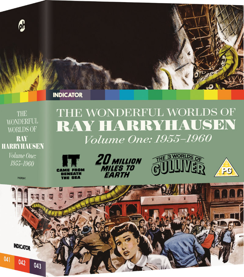 The Wonderful Worlds of Ray Harryhausen: Volume One (1955-60)