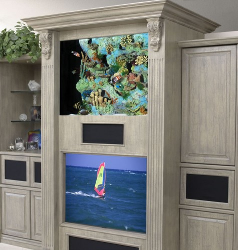 Home Aquarium Design Ideas: Tips Adjust The Layout Of The Aquarium At Home