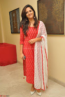 Anusuya in Red at Kalamandir Foundation 7th anniversary Celebrations ~  Actress Galleries 004.JPG