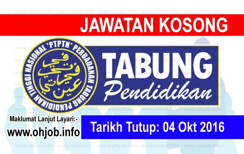 Jawatan Kerja Kosong Perbadanan Tabung Pendidikan Tinggi Nasional (PTPTN) logo www.ohjob.info oktober 2016
