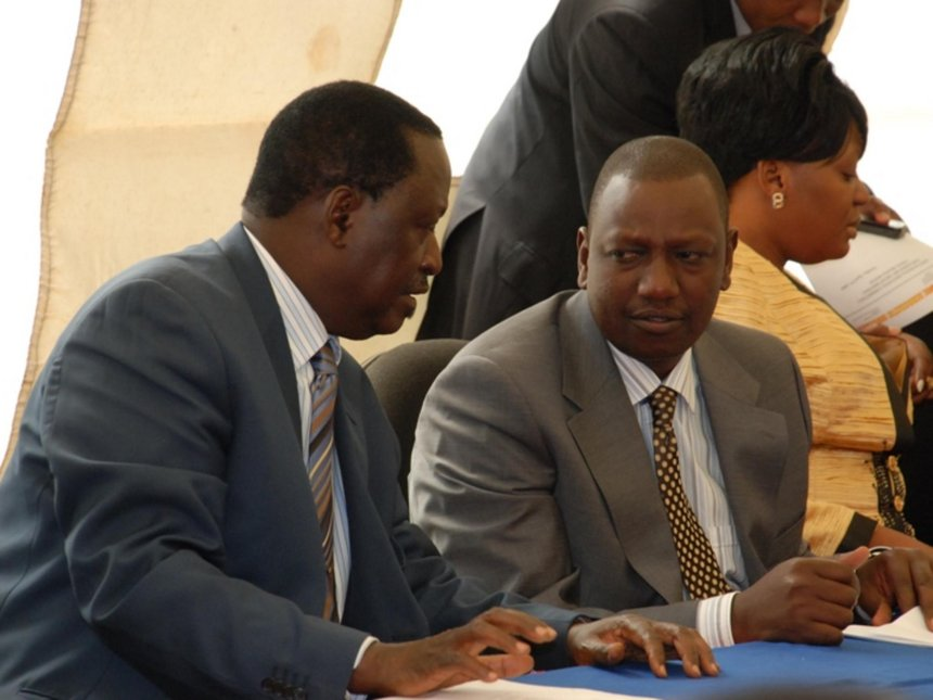 Raila Offers William Ruto A 2022 Support Proposal