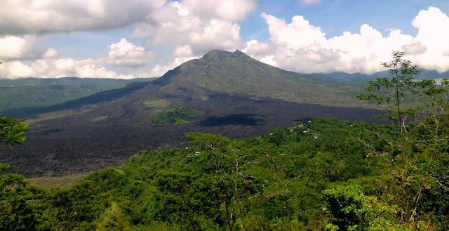 sejarah gunung batur