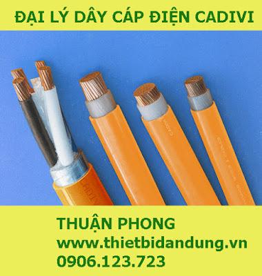 Đại lý dây cáp điện cadivi tại Vĩnh Long cấp 1 giá gốc