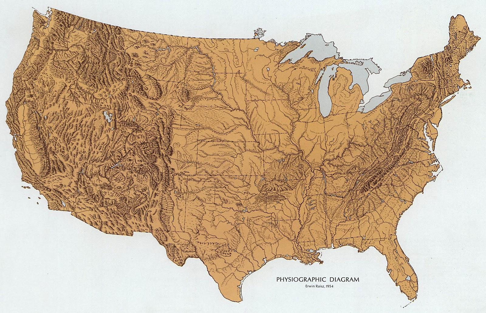 Data Deluge The Landform Map