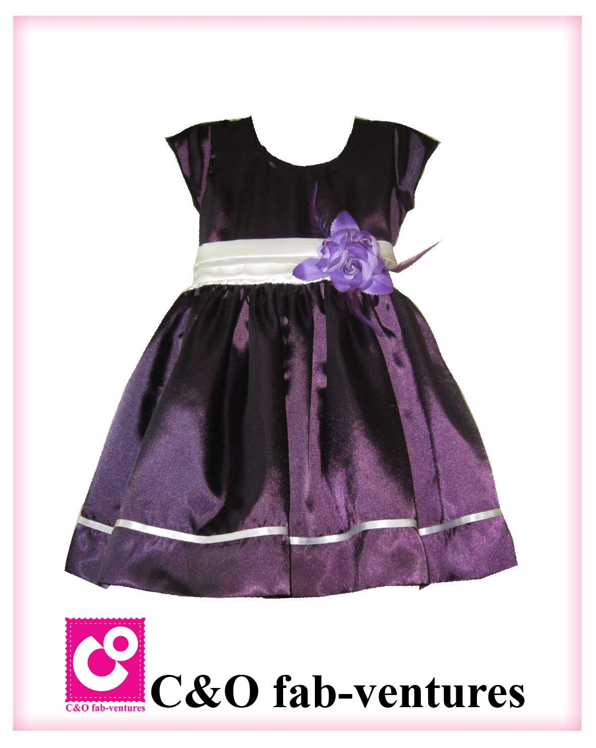 C Amp O Fab Ventures Girls Frock Design And Stitching
