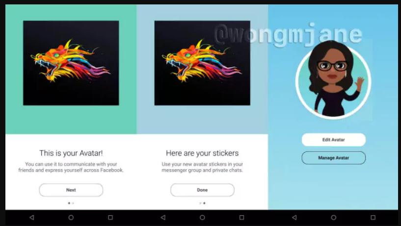 Fitur Avatar Facebook Disebut Mirip dengan Snapchat's Bitmoji ?