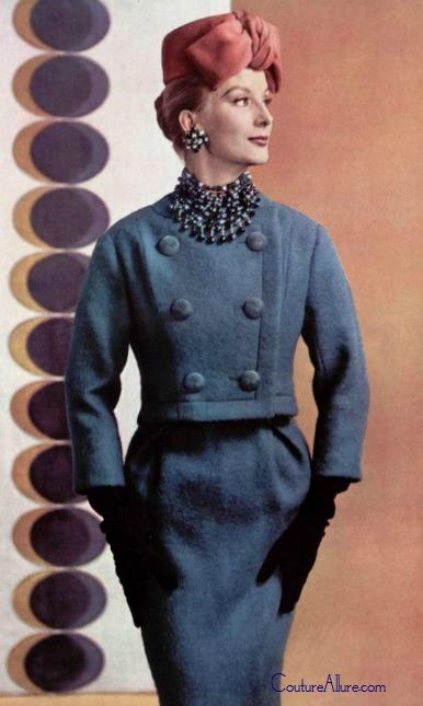 Couture Allure Vintage Fashion August 2013