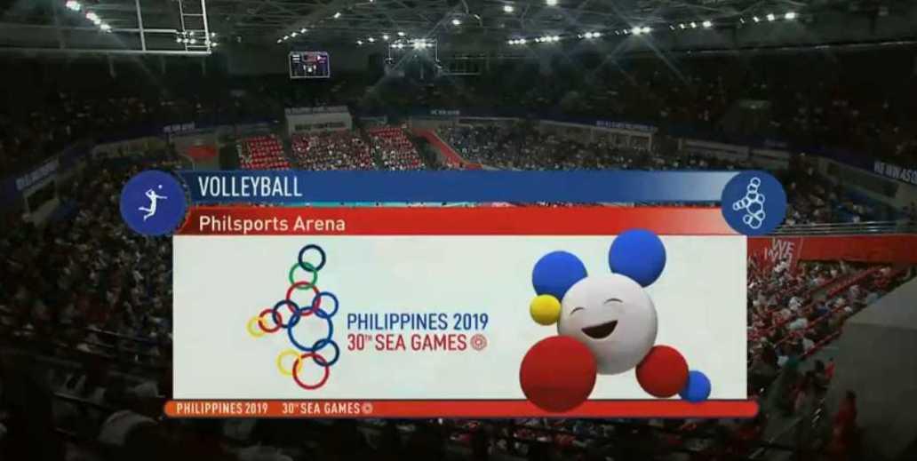 Philippines Vs Indonesia Live Men S Volleyball Sea