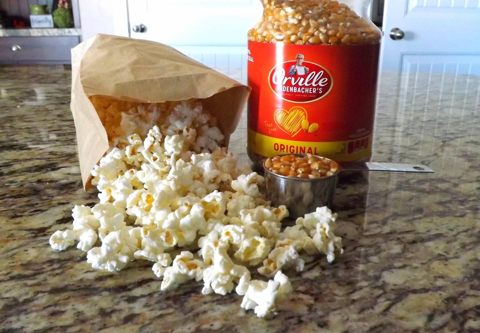 The Bake Off Flunkie Brown Bag Microwave Popcorn