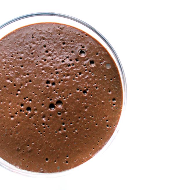 Oppskrift Vegansk Sjokoladepudding Mokkapudding Kaffe Enkel Melkefri Eggfri Dessert Nyttårsdessert