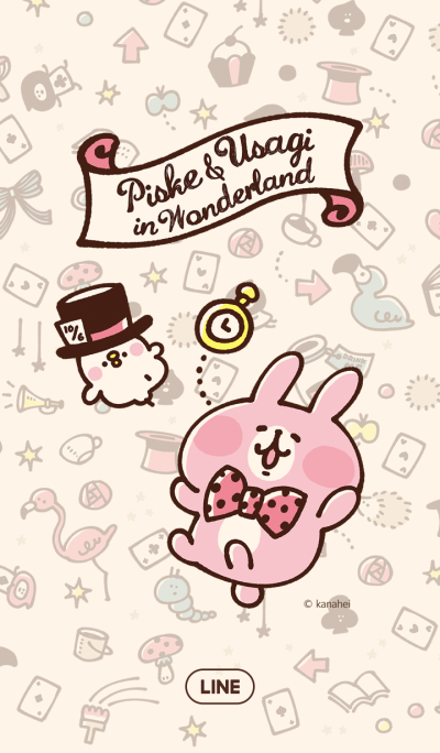 Piske & Usagi in Wonderland