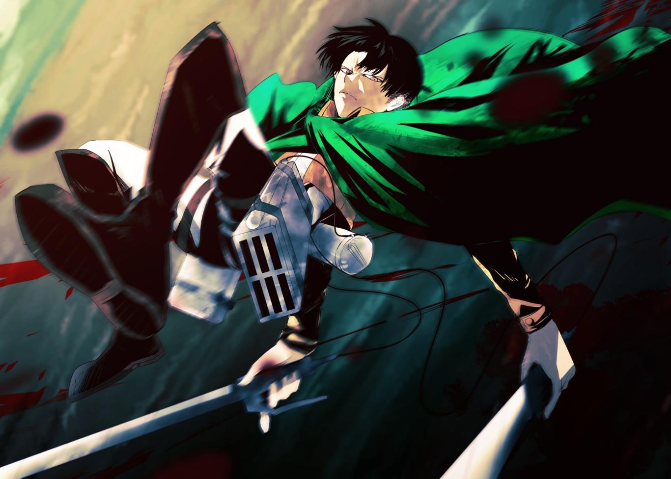 Levi 3d Maneuver Gear Shingeki No Kyojin A106 Hd Wallpaper