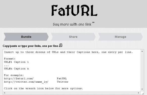 """FatURL; è un comodissimo accorciatore di """"URL"""" che consente di inserire tanti """"link multipli"""" in un solo link."""