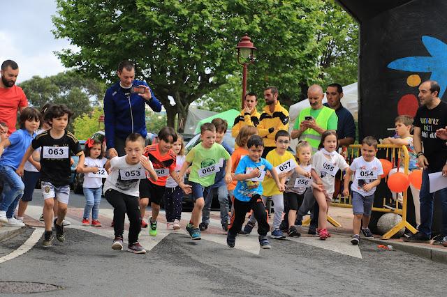 carrera euskera fiestas de Llano