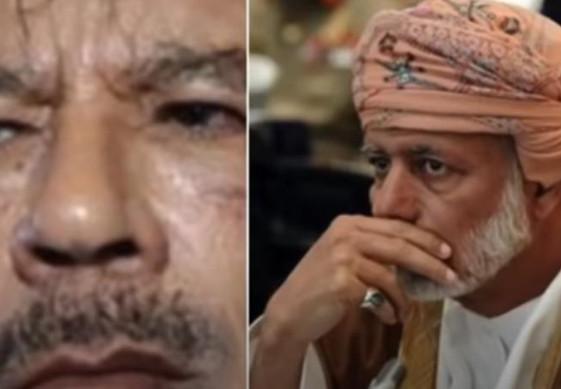 تسجيل صوتي مسرب يظهر تآمر وزير خارجية عمان يوسف بن علوي والقذافي على المملكة