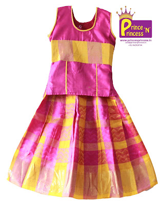 pattu pavadai ethnic traditional girls wear online