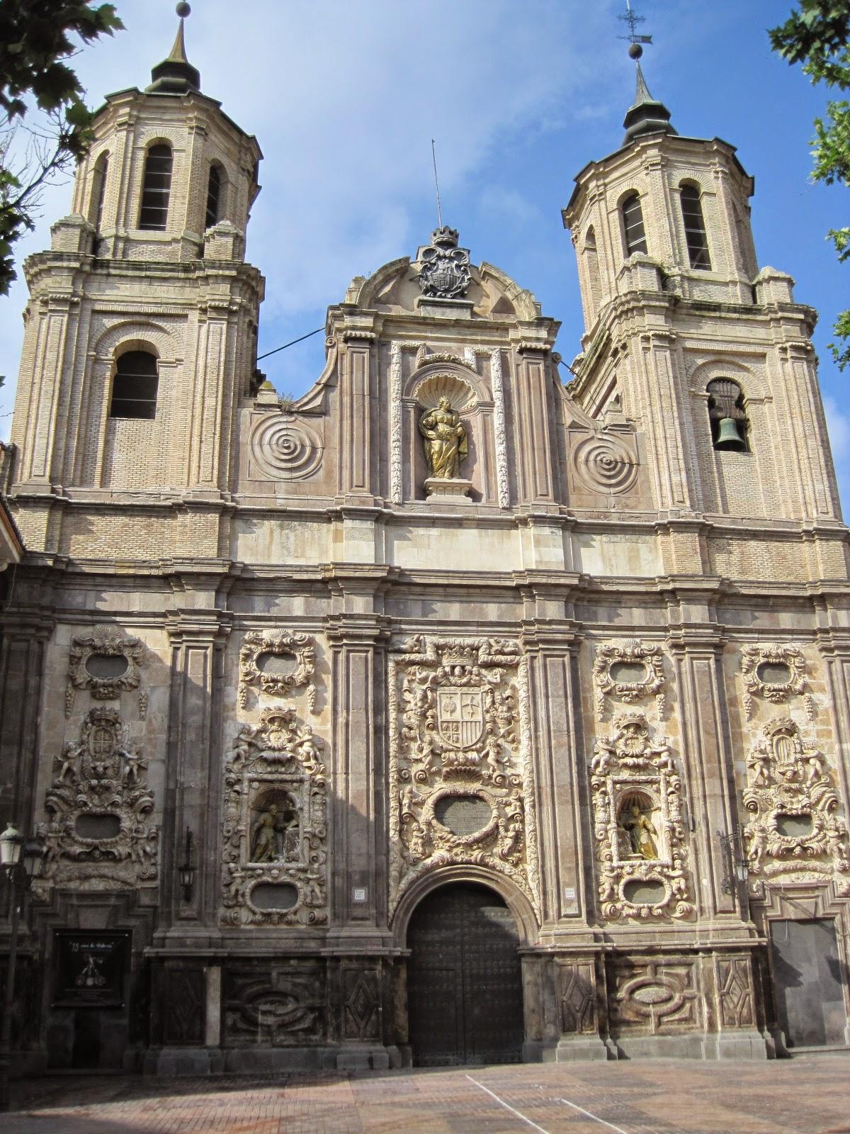 Resultado de imagen de Iglesia de Santa Isabel Zaragoza