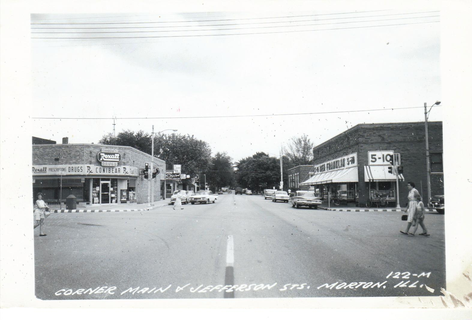 Postcards From The Past Morton Illinois Main