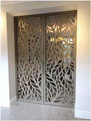 fotol pintu minimalis besi modern
