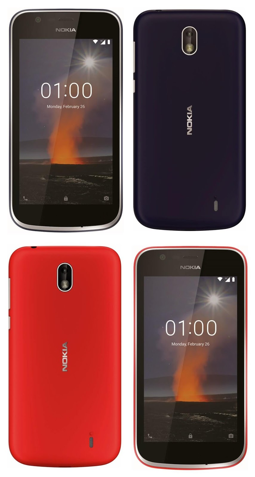 Nokia : New phone renders of nokia 1
