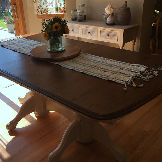Refinish Kitchen Table