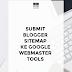 Submit Blogger Sitemap ke Google Webmaster Tools