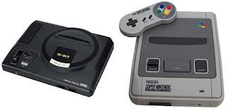 Videoconsolas Mega Drive y Super Nintendo
