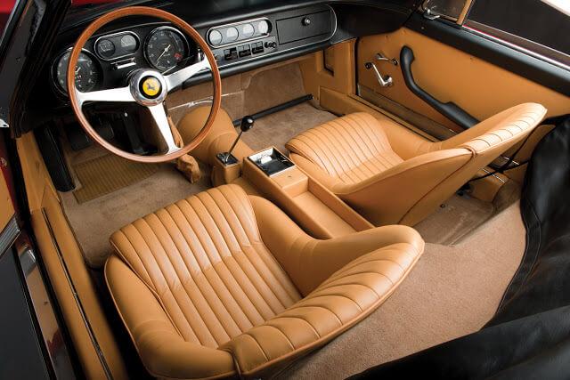 Ferrari 275 Spider Interior