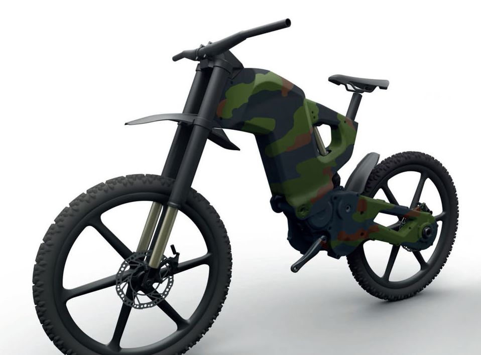 Velo Mondial The Foldable E Bicycle As A Real Weapon An