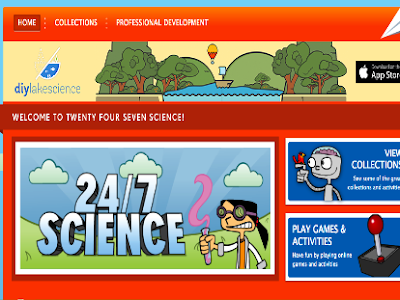 A Treasure Trove of Interactive Games and Experiments for Science Teachers