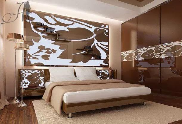 habitación chocolate beige