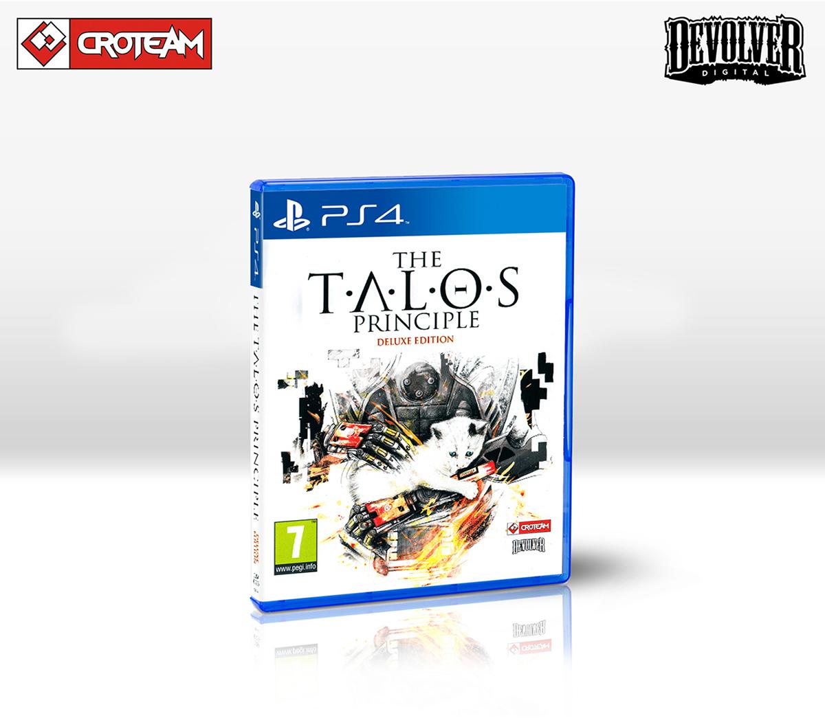 The Talos Principle <br> PS4 & Vinyl Design