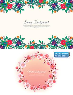 2-nen-do-hoa-trang-tri-hoa-xuan-spring-wreath-flowers-vector-6285