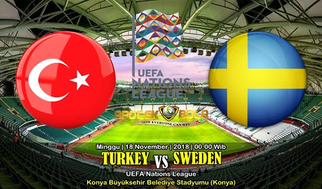 Prediksi Turkey Vs Sweden 18 November 2018