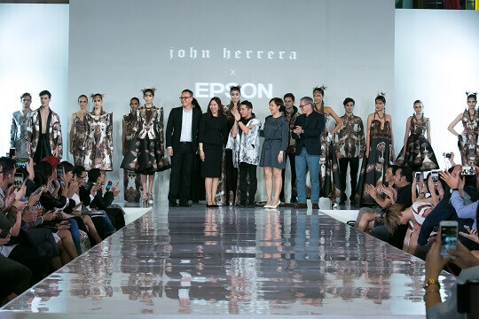 Epson Teams Up with Fashion Designer John Herrera for Aguila-Inspired Collection