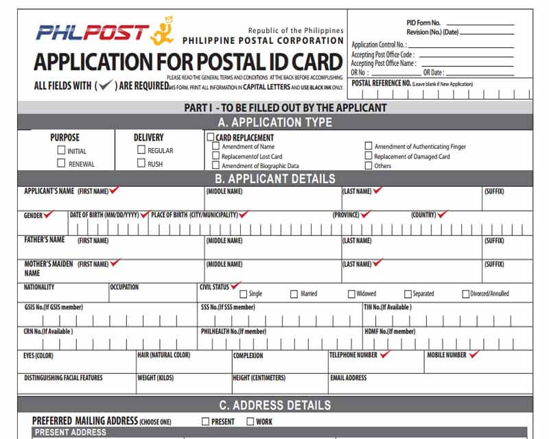 How to Get or Apply Postal ID – Requirements and Online Application Application Form Bir on application to join motorcycle club, application for employment, application database diagram, application to date my son, application for scholarship sample, application for rental, application meaning in science, application template, application trial, application service provider, application clip art, application error, application approved, application cartoon, application insights, application to rent california, application in spanish, application to join a club, application submitted, application to be my boyfriend,