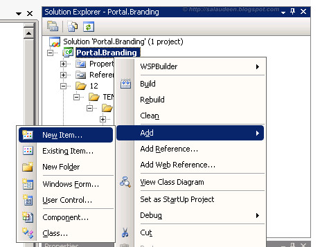 Create Branding Feature SharePoint