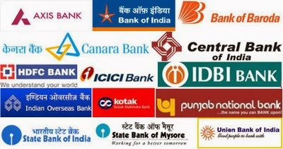 List of Indian nationalize & private banks addresses in Foreign countries - Out of India